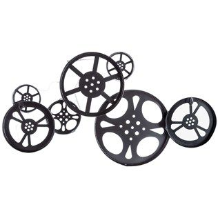 Movie Reel Wall Decor 260 best home . theater images on pinterest | cinema room, movie