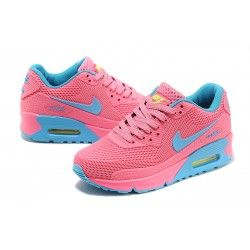 sports shoes fccb4 8040c Official Nike Air Max 90 Honeycomb Women Pink Moon blue Great Discount