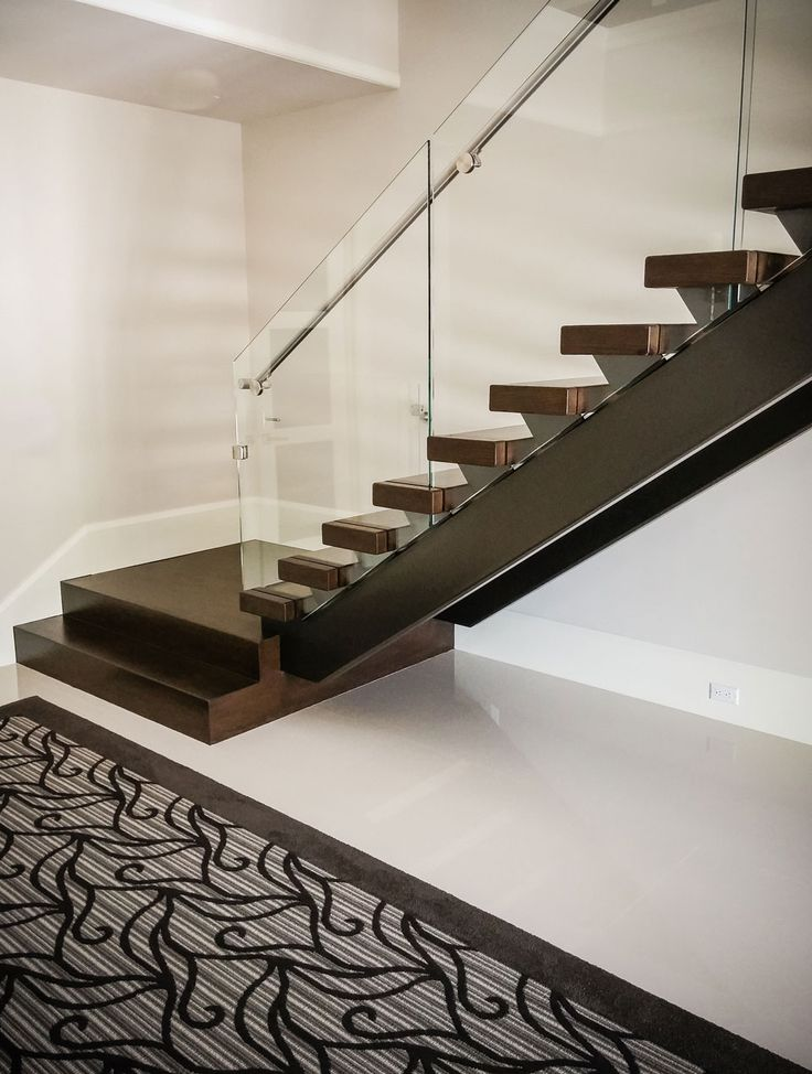 Best 25 contemporary stairs ideas on pinterest stairs for Modern glass railing