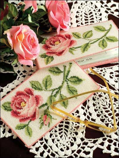 sweetheart roses cross stitch download pattern