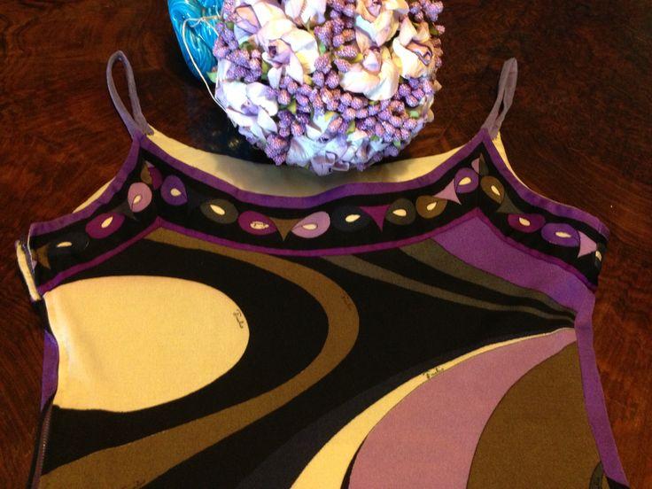 Purple #PUCCI top details
