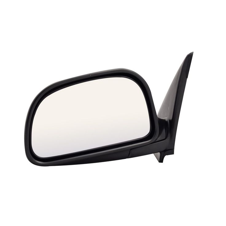 Pilot Automotive MB1509410 Mitsubishi Mirage Black Manual Replacement Side Mirror (driver side mirror)