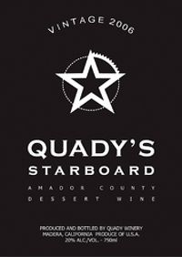 Quady 2006 Starboard Dessert Wine Port (Amador County) Rating and Review | Wine Enthusiast Magazine