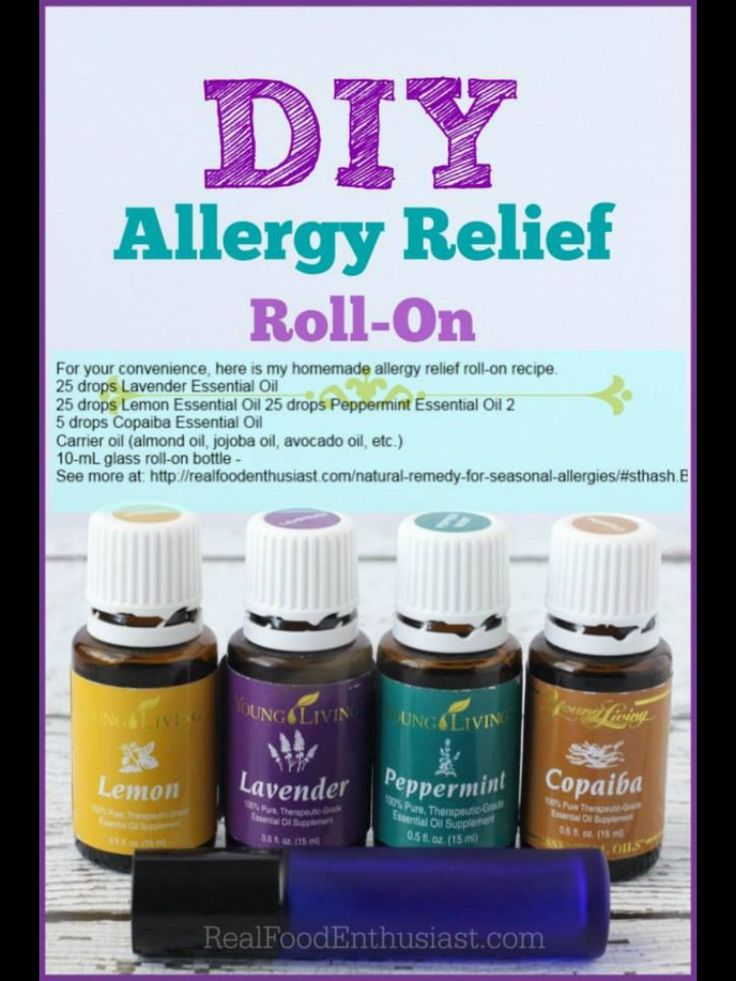DIY Allergy Relief Roll On