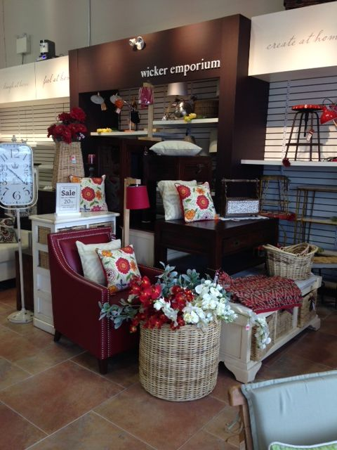 Great displays from Avalon Mall, NL | wickeremporium.ca