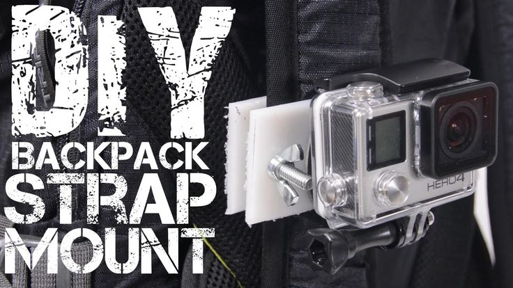 DIY GoPro Backpack Strap