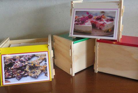 Loving the beautifully designed recipe box - what colour to choose?? THE BOX - RIPE RECIPES - ripedeli
