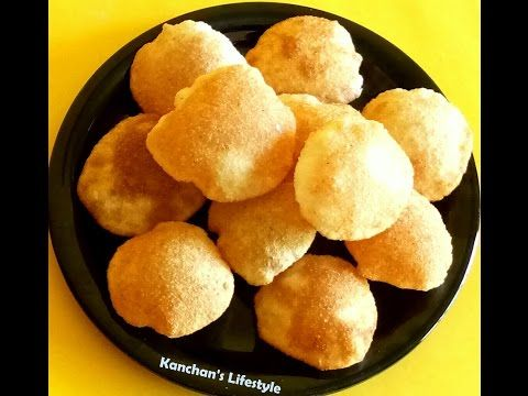 Panipuri/Puchka/Golgappa Recipe By kanchan's lifestyle|Easy Homemade panipuri Recipe|Quick Panipuri - YouTube