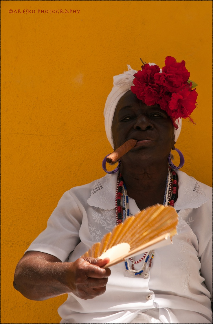 Havana character.  Colourful and vibrant.