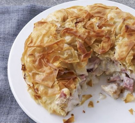 Chicken and Ham Pie with Tarragon | Food Glorious Food ...