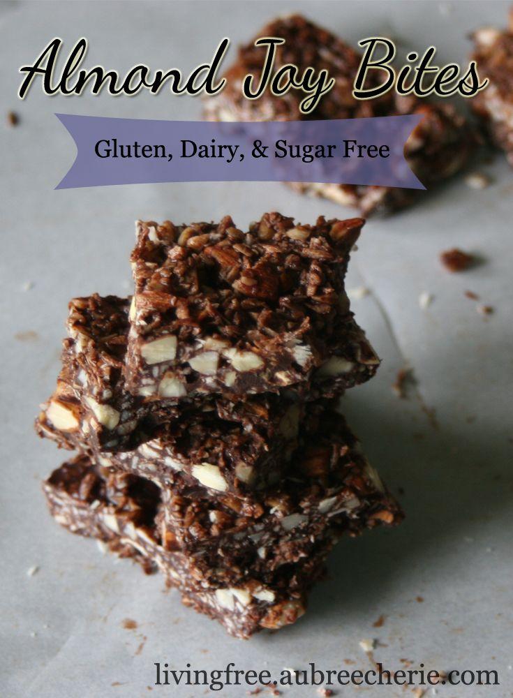 Living Free   Almond Joy Bites (GF, DF, & SF)