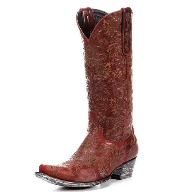STUNNING Red boots inspired by Miranda Lambert's new video: http://www.countryoutfitter.com/style/11-red-boots-inspired-by-miranda-lamberts-new-video-for-little-red-wagon