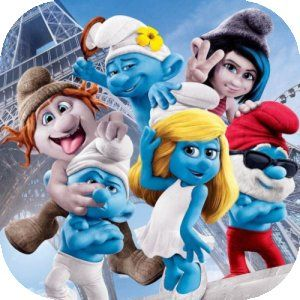 The Smurfs after all of these years, the smurfs are still fav with young people. Who would have thought?