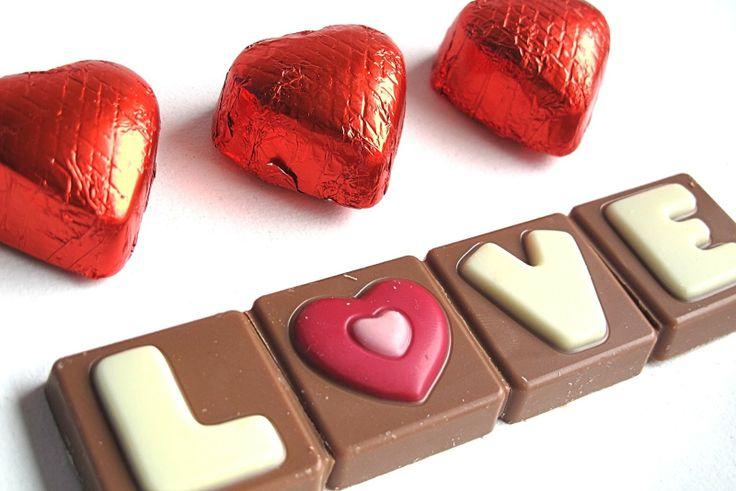 Love with chocolate!