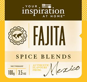 This Mexican spice blend is a favourite in chicken or beef fajitas to add therich smoky flavour of authentic Mexican cuisine. Connect with an AYRFCI Fundraising Partner for More Info