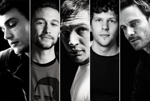 James Franco, Joseph Gordon-Levitt, Tom Hardy, Jesse Eisenberg, Michael Fassbinder