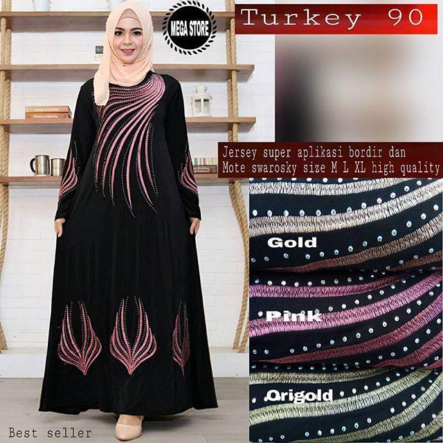 Turkey 90  Matt :  Jersey Super Aplikasi Bordir   Mote Swaroski   Size M, L, XL   Good Quality  Harga : 170.000    #khimarmurah #maximurah #gamis #gamismurah #syari #muslim #muslimahfashion #jilbabgrosir #jilbab #ootd #hijab #trend #like4like #l #hijabmurah #jeans #kulot