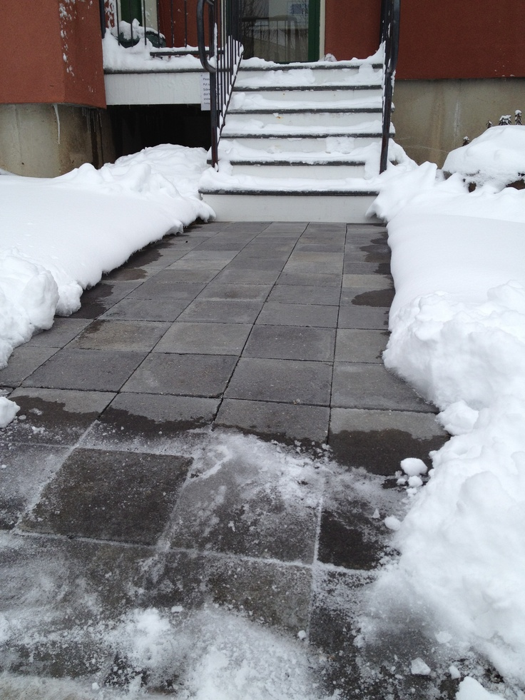 1000 Images About Thermapaver Snow Melt Testimonial On