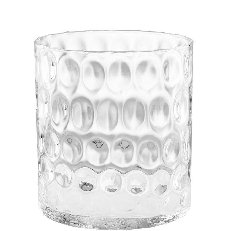 AGATA Zylinder Vase mit Struktur 22cm - Butlers Deutschland