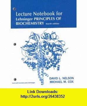 Lehninger Principles of Biochemistry Lecture Notebook (9780716759546) David L. Nelson, Michael M. Cox , ISBN-10: 0716759543  , ISBN-13: 978-0716759546 ,  , tutorials , pdf , ebook , torrent , downloads , rapidshare , filesonic , hotfile , megaupload , fileserve