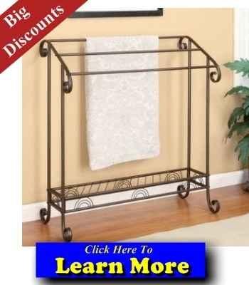 Best Free Standing Towel Rack - Free Standing Towel Rack    WOW!