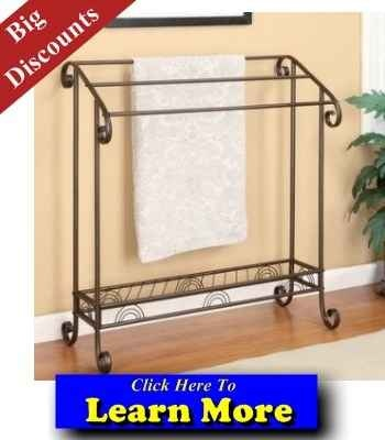 Best Free Standing Towel Rack - Free Standing Towel Rack    WOW!