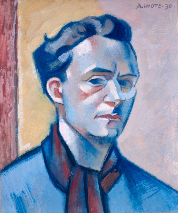 André Lhote Frans schilder, illustrator, beeldhouwer en kunsthistoricus, (1885-1962) Invloed van Afrikaanse en Egyptische kunst en het werk van Paul Gauguin. Zijn vroege werk is fauvistisch, o.i.v. van Paul Cézanne en Pablo Picasso, wordt zijn stijl meer en meer kubistisch. Hij is als schilder grotendeels autodidact. Van 1898 tot 1904 is hij student beeldhouwen. Onder invloed van Paul Gauguin werd hij echter steeds meer tot de schilderkunst aangetrokken.