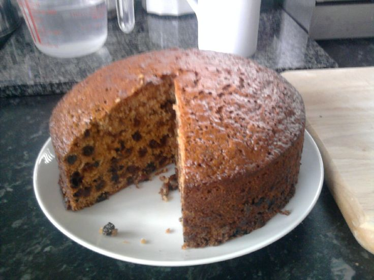 A wonderful Fruit Cake using Tea, that is just perfect with a cup!!!!!