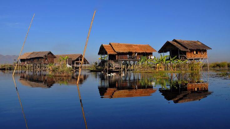 lac Inlé, inle Lake, Myanmar
