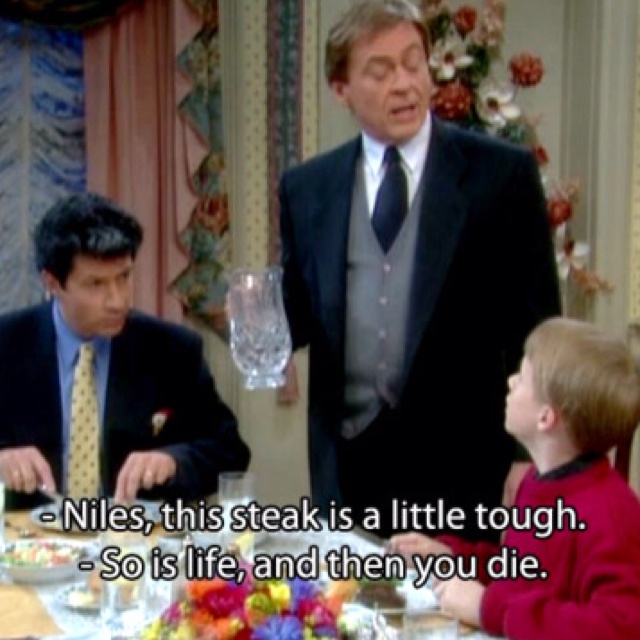 The Nanny - Niles was always my favorite character, hands down