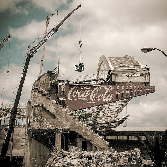 Demolición de San Mamés. | Flickr - Photo Sharing!