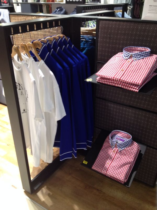 Beautiful check and denim shirts at a Stuttafords store near you.