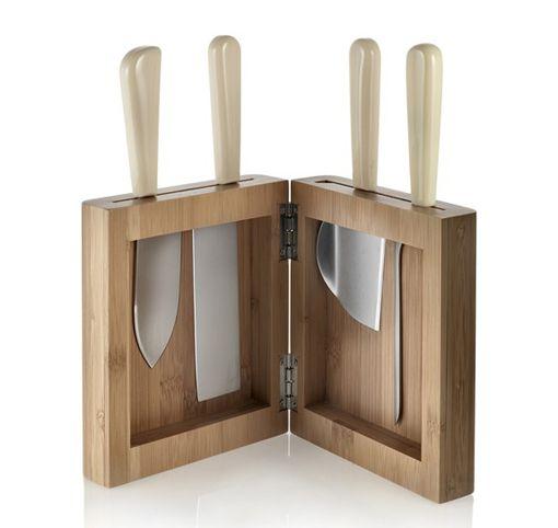 Set de cuchillos para el queso, de Alessi