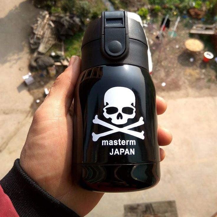 180ML Creative Skull Mini Thermos Stainless Steel Vacuum Flask Insulation Cup Garrafa Termica Water Bottle Thermal Thermocup Mug