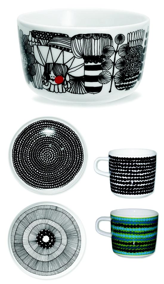 Marimekko räsymatto print kitchenware