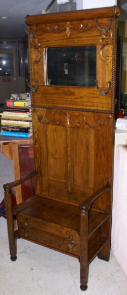 74 Best Images About Antique Hall Trees On Pinterest Hall Tree Bench Coat Storage And Entryway