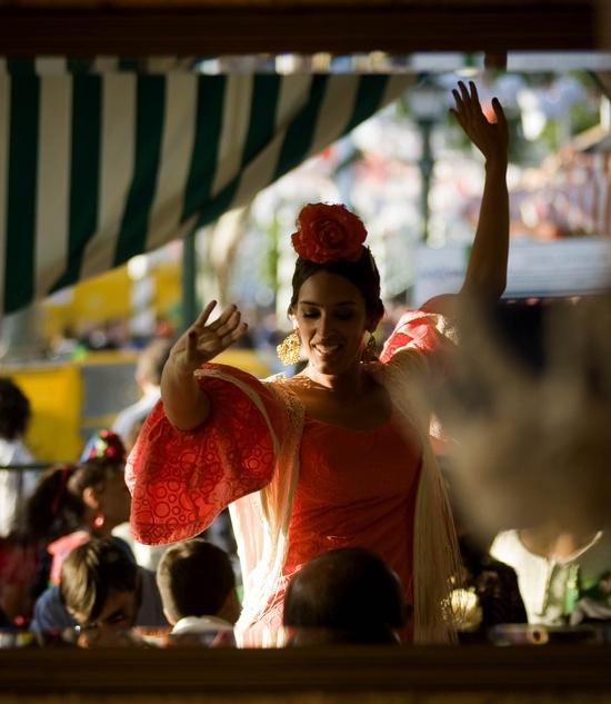Feria de Abril in Sevilla - gitana