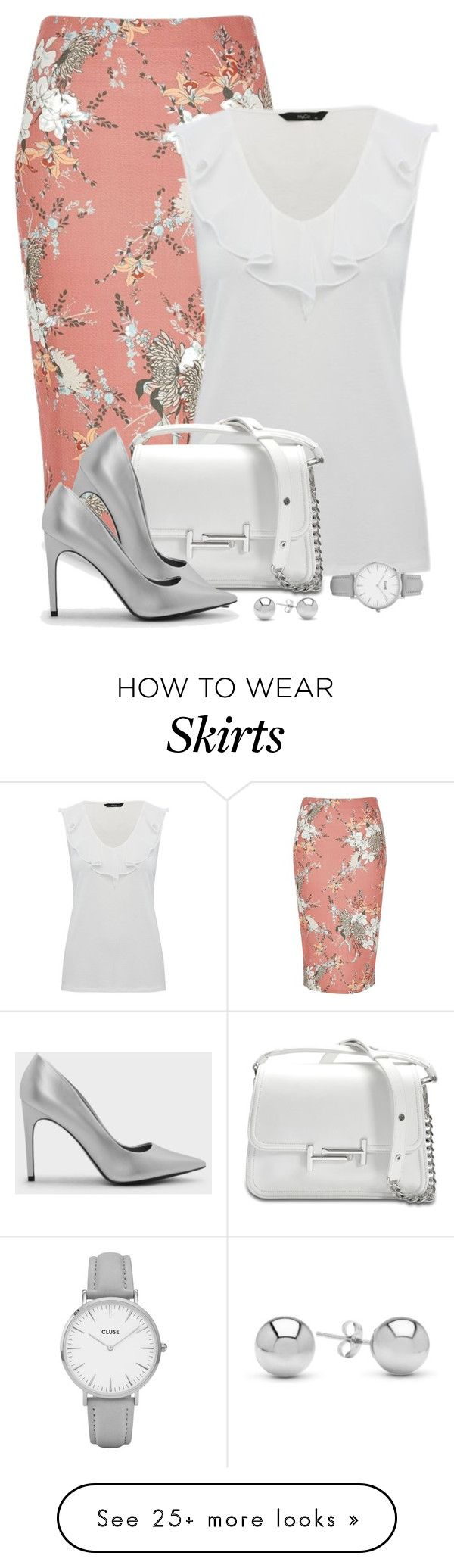 """Untitled #180"" by mindy-2-1 on Polyvore featuring River Island, Tod's, CHARLES & KEITH, CLUSE and Jewelonfire"
