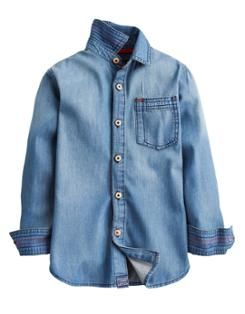 JNRKINNEY Boys Denim Shirt