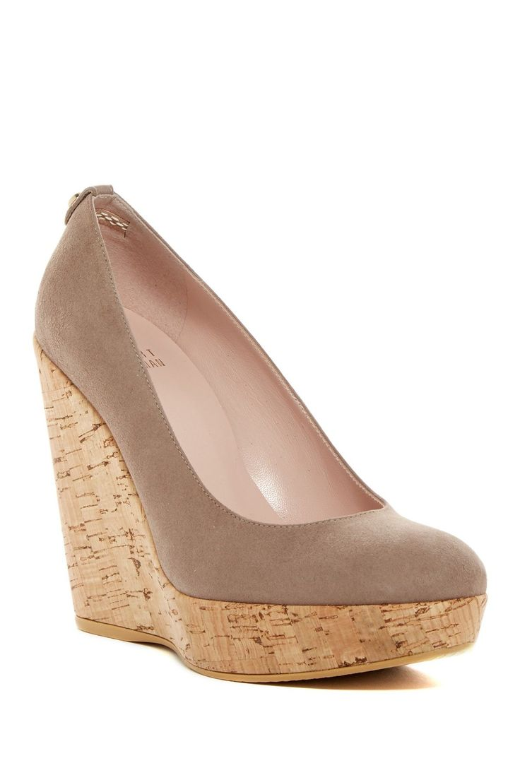 Corkswoon+Wedge+Pump-+Wide+Width+Available++by+Stuart+Weitzman+on+@nordstrom_rack