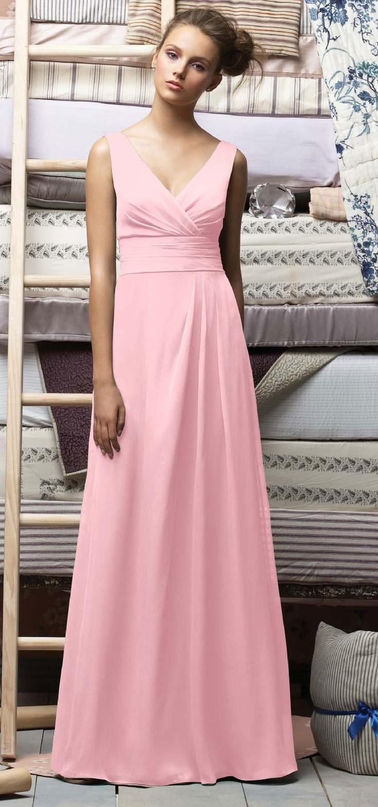 87 best Pale Pink Dresses images on Pinterest | Bridesmaids, Bridal ...