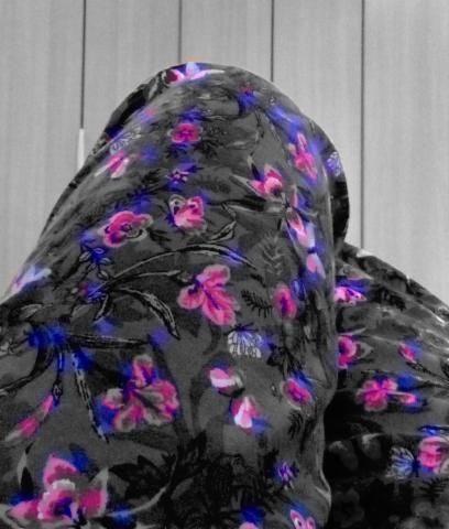 Nice photo selfie by a happy customer, Betsy floral Pyjamas are so pretty.