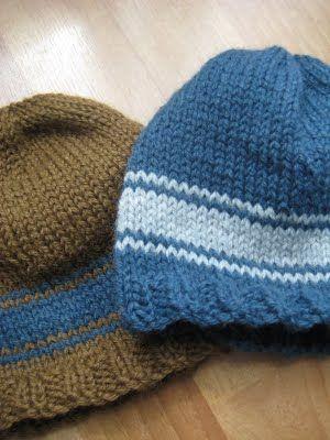 Knitting @ Lunch: Basic toddler hat