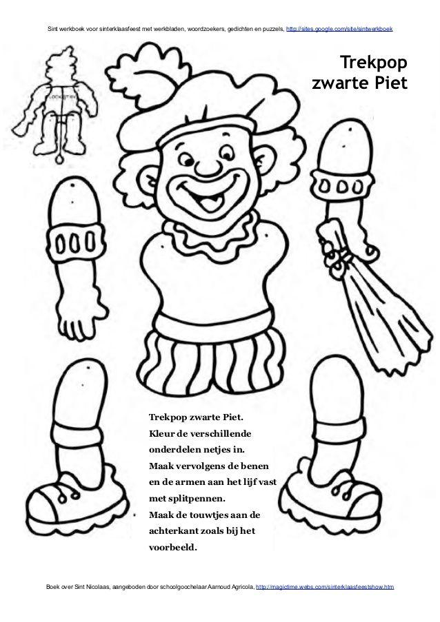 Zwarte Piet trekpop