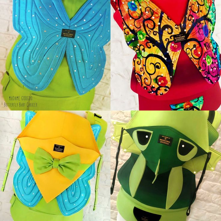 ONLY TODAY I have a special offer for you, this time for BABY CARRIERS WITH WINGS  You can choose the type of wings you like: BAT, DRAGON, BUTTERFLY or BEE (photo coming soon!). Feel free to customise your carrier to your personal taste!  Every carrier including wings will have a 10% discount! If you're interested in placing an order, please email us at info@madamegoogoo