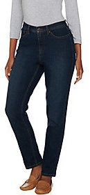 "Denim & Co. As Is How Modern"" Stretch Denim Ankle Jeans"