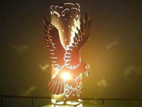 Luminária de PVC da Áquia - YouTube