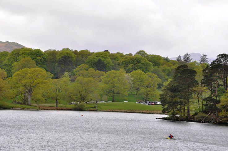 Göl Şairleri'nin (Wordsworth, Coleridge ve Southey) Göller Bölgesi'nden başka bir görünüm.