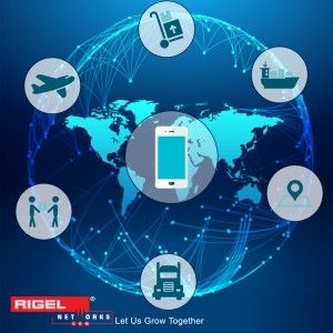 Blog by Rigel Networks discussing How Mobile Applications are delivering success for Logistics Industry.