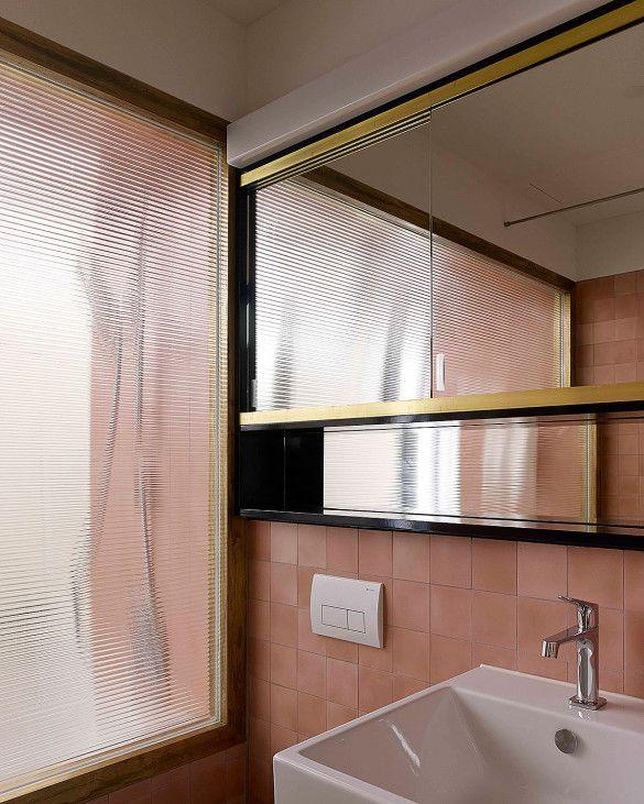 Moderne Schweizer Architektur Hohes Haus West Badezimmer Vom
